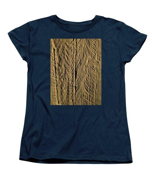 Tire Tracks Women's T-Shirt (Standard Cut)
