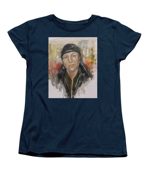 To Honor John Trudell Women's T-Shirt (Standard Cut) by Synnove Pettersen