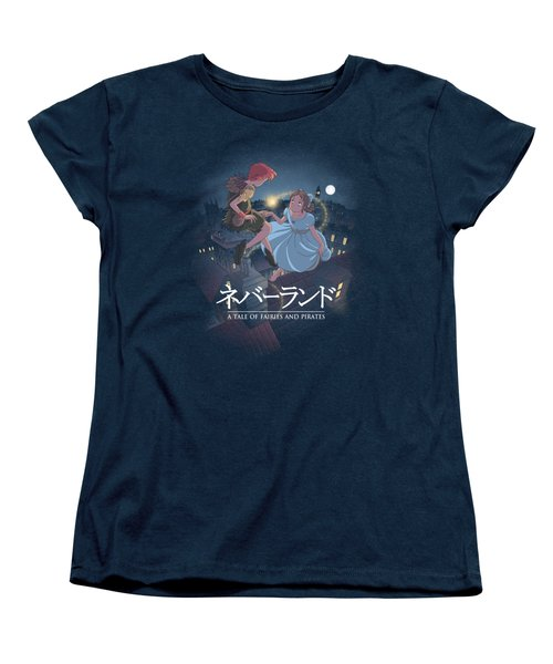 To Neverland Women's T-Shirt (Standard Cut)