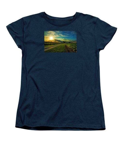 Tobacco Row Women's T-Shirt (Standard Cut) by John Harding