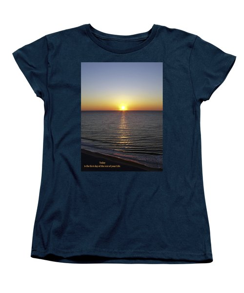 Women's T-Shirt (Standard Cut) featuring the photograph Today by Rhonda McDougall