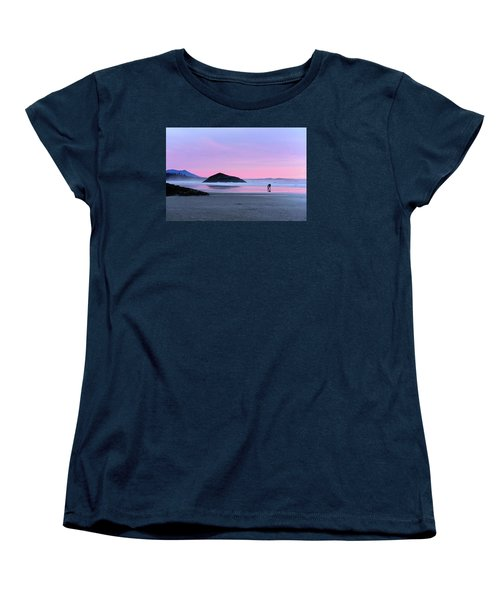 Tofino Sunset Women's T-Shirt (Standard Cut) by Keith Boone