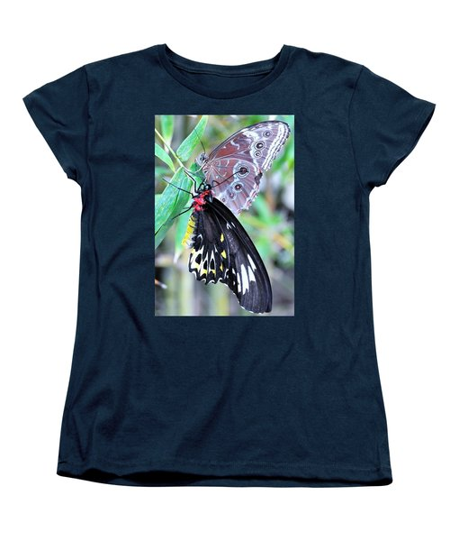 Women's T-Shirt (Standard Cut) featuring the photograph Together Always by Kicking Bear Productions