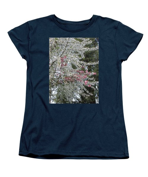 Women's T-Shirt (Standard Cut) featuring the photograph Togetherness by Marie Neder