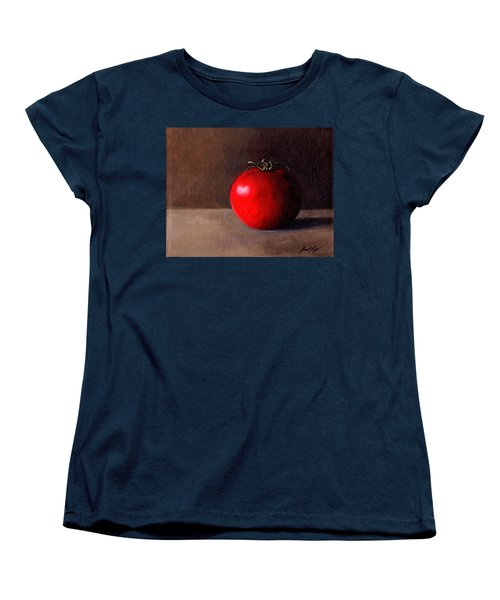 Women's T-Shirt (Standard Cut) featuring the painting Tomato Still Life 1 by Janet King