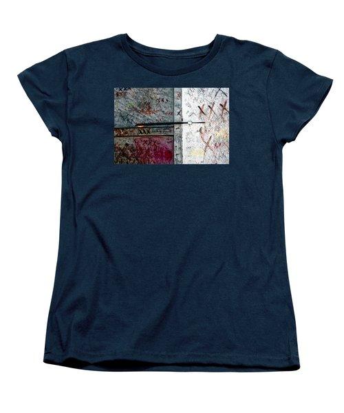 Tomb Of Marie Laveau Voodoo Queen Of New Orleans Women's T-Shirt (Standard Cut) by Kathleen K Parker