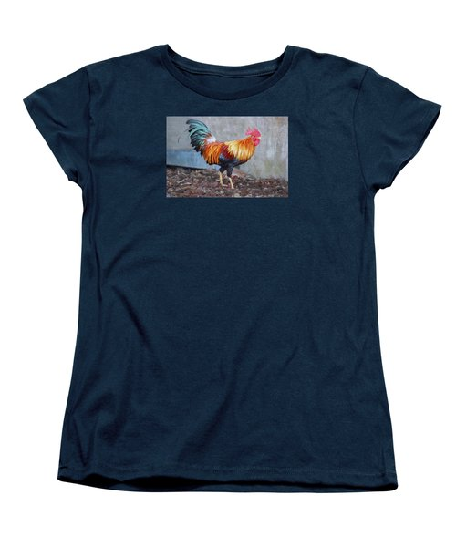 Too Sexy For My Feathers Women's T-Shirt (Standard Cut) by Christina Lihani