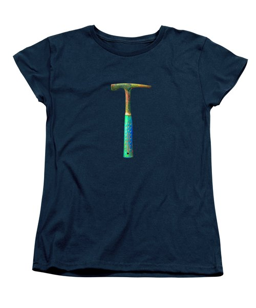 Tools On Wood 63 On Bw Women's T-Shirt (Standard Cut) by YoPedro