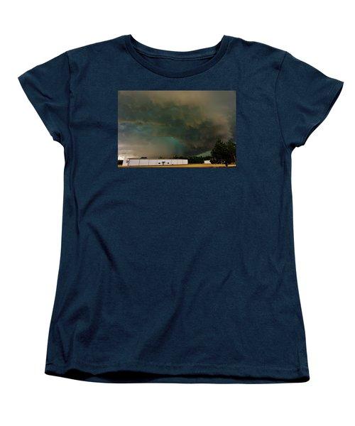 Tornadic Supercell Women's T-Shirt (Standard Cut) by Ed Sweeney