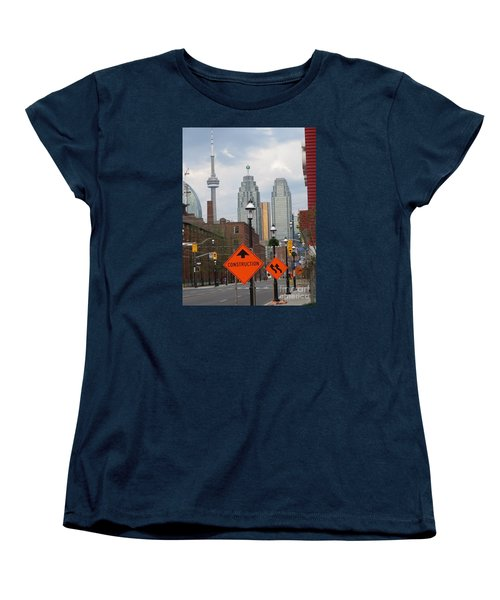 Toronto Skyline Women's T-Shirt (Standard Cut)