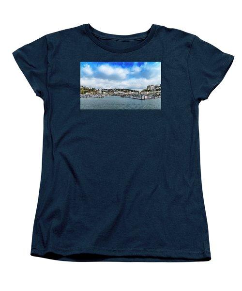Women's T-Shirt (Standard Cut) featuring the photograph Torquay Devon by Scott Carruthers