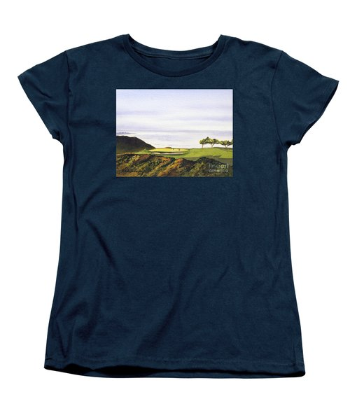 Torrey Pines South Golf Course Women's T-Shirt (Standard Cut) by Bill Holkham
