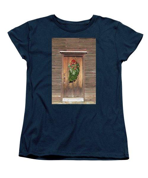 Touch Of Christmas Women's T-Shirt (Standard Cut)