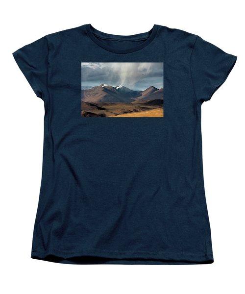 Touch Of Cloud Women's T-Shirt (Standard Cut) by Hitendra SINKAR