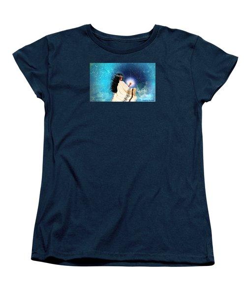 Touch The Light Women's T-Shirt (Standard Cut)