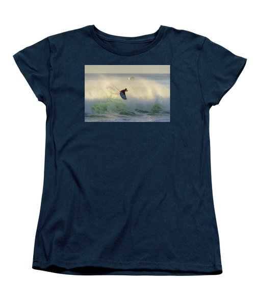Women's T-Shirt (Standard Cut) featuring the photograph Touch The Sun by Thierry Bouriat