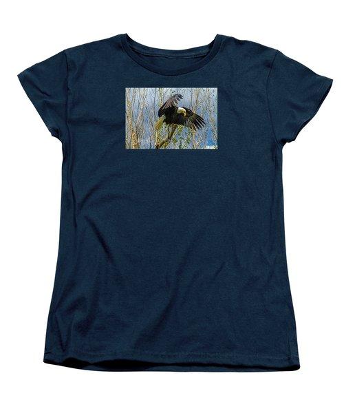 Touchdown Women's T-Shirt (Standard Cut) by Alana Thrower