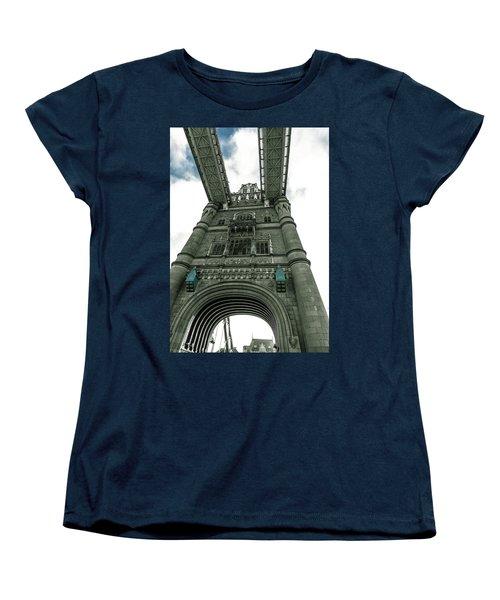 Tower Bridge Women's T-Shirt (Standard Cut) by Patrick Kain