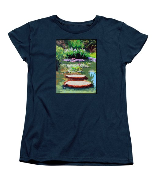 Tower Grove Park Women's T-Shirt (Standard Cut) by John Lautermilch