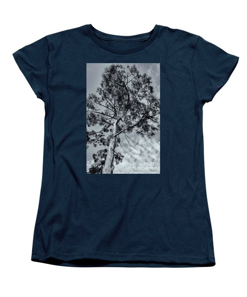 Women's T-Shirt (Standard Cut) featuring the photograph Towering by Linda Lees