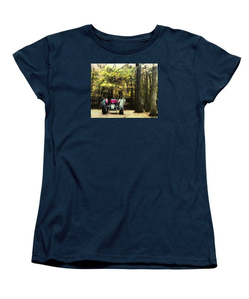 Women's T-Shirt (Standard Cut) featuring the photograph Tractor by Carlee Ojeda
