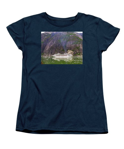 Women's T-Shirt (Standard Cut) featuring the photograph Tracy Arm Fjord by Jim Mathis