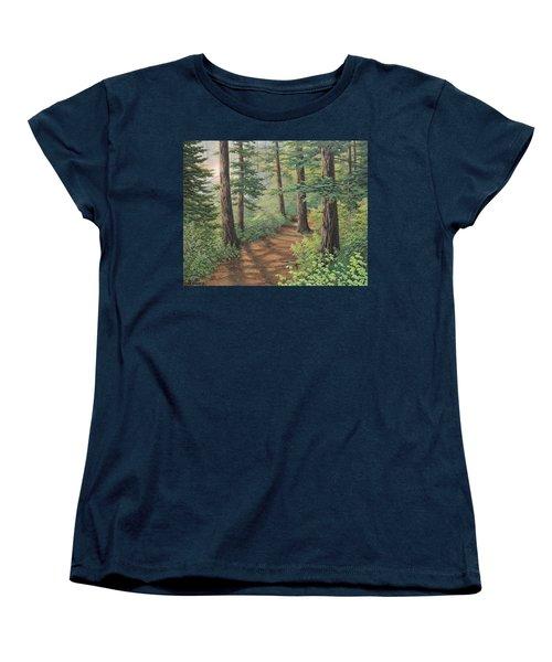 Trail Of Green Women's T-Shirt (Standard Cut)
