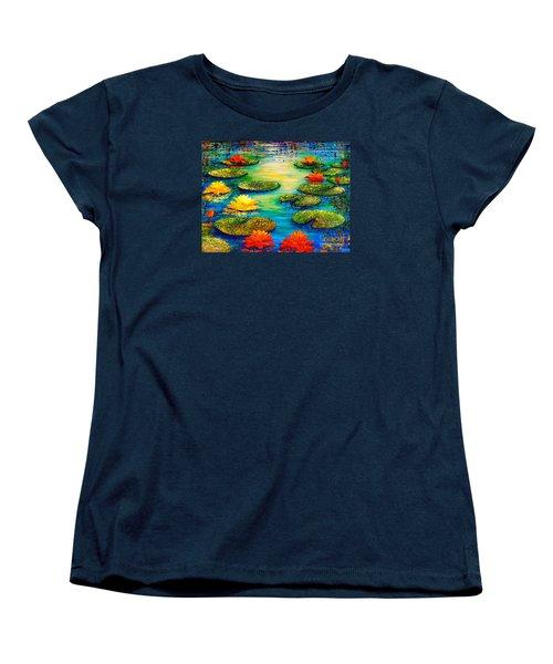 Tranquility 3 Women's T-Shirt (Standard Cut) by Teresa Wegrzyn