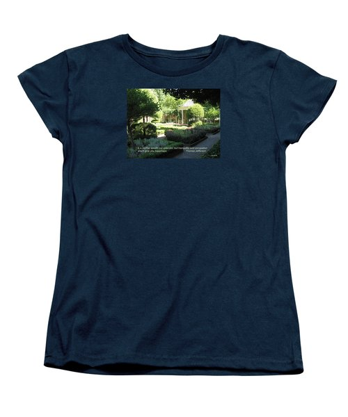 Tranquility And Occupation Women's T-Shirt (Standard Cut) by Deborah Dendler