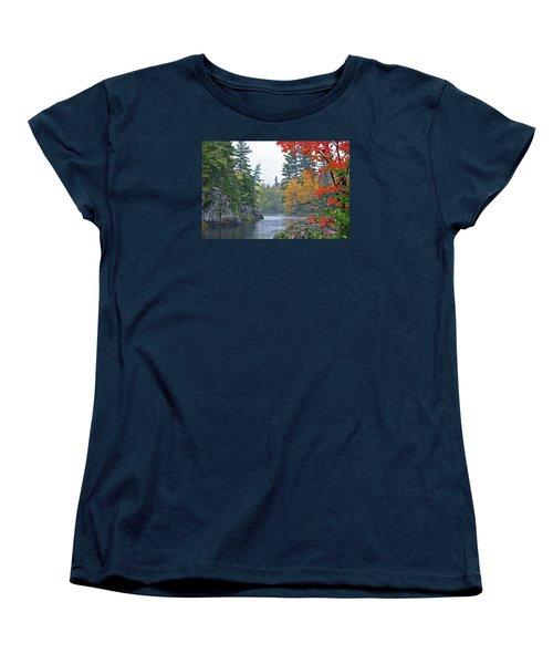 Autumn Tranquility Women's T-Shirt (Standard Cut)