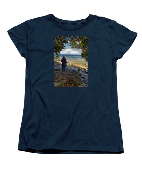 Tranquility Women's T-Shirt (Standard Cut) by Judy Johnson