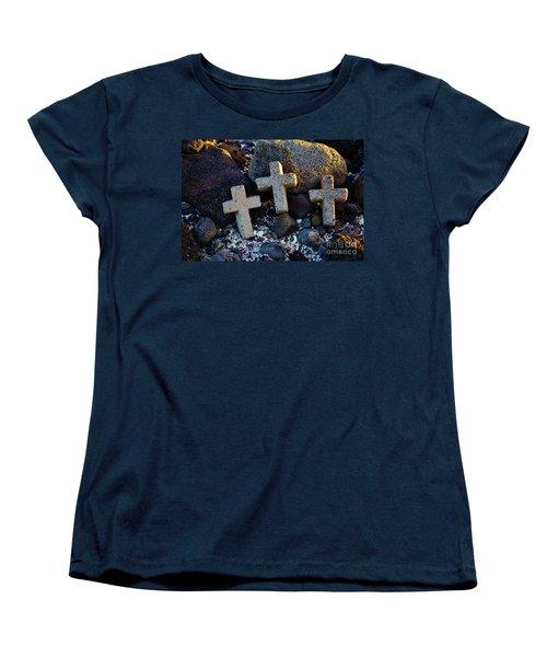 Women's T-Shirt (Standard Cut) featuring the photograph Transformed Beach Debris by Craig Wood