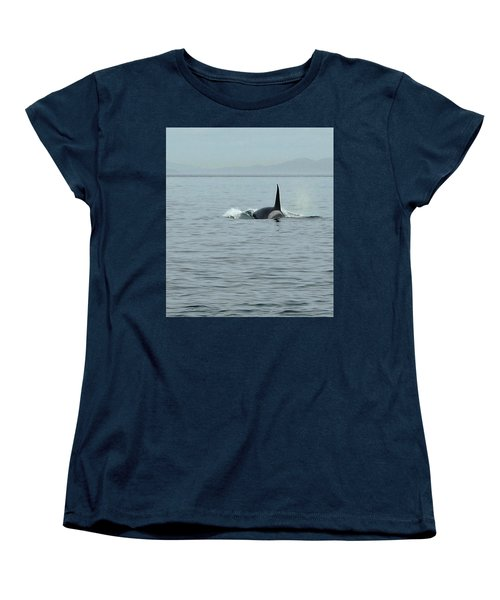 Transient Killer Whale Women's T-Shirt (Standard Cut) by Brian Chase