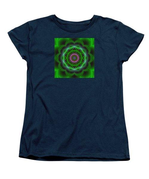 Transition Flower 10 Beats Women's T-Shirt (Standard Cut) by Robert Thalmeier