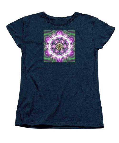 Transition Flower 6 Beats 3 Women's T-Shirt (Standard Cut) by Robert Thalmeier