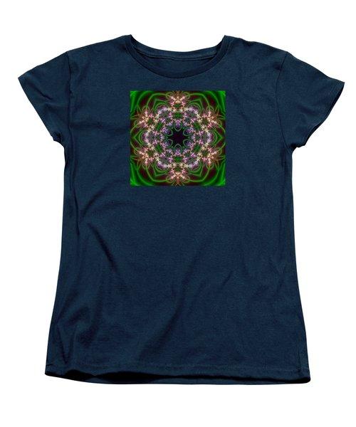 Transition Flower 6 Beats Women's T-Shirt (Standard Cut) by Robert Thalmeier