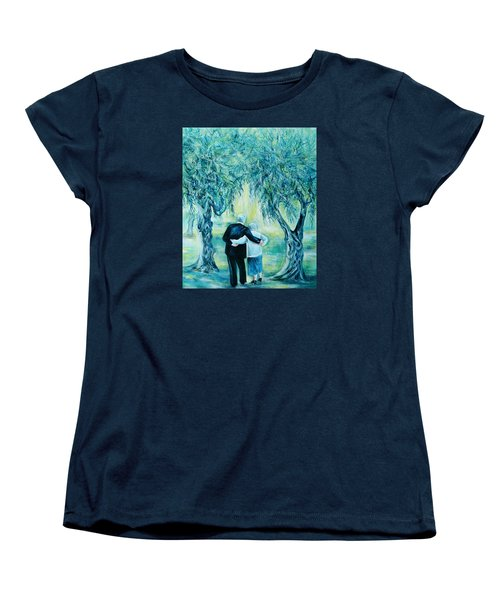 Travel Notebook.olive Groves Women's T-Shirt (Standard Cut) by Anna  Duyunova