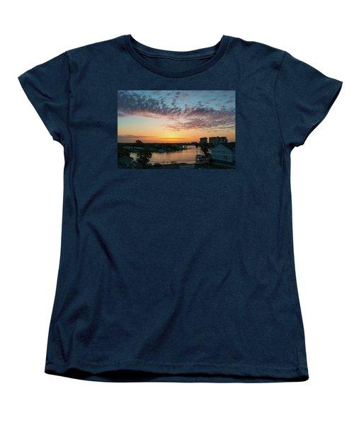 Women's T-Shirt (Standard Cut) featuring the photograph Treasure Island Sunrise by RC Pics