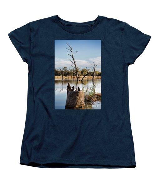 Women's T-Shirt (Standard Cut) featuring the photograph Tree Image by Douglas Barnard
