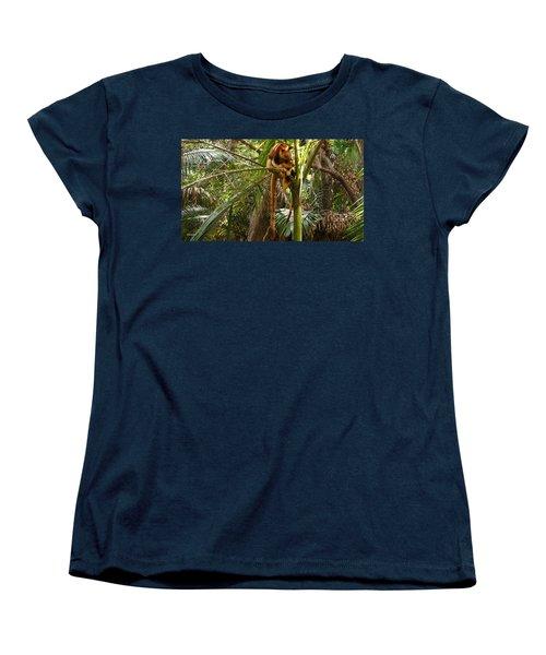 Tree Kangaroo 2 Women's T-Shirt (Standard Cut) by Gary Crockett