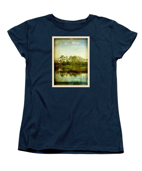Women's T-Shirt (Standard Cut) featuring the photograph Tree Laces by Linda Olsen