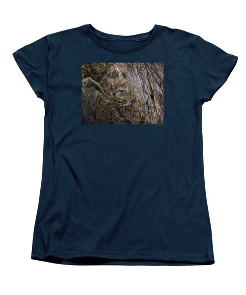 Women's T-Shirt (Standard Cut) featuring the photograph Tree Memories # 19 by Ed Hall