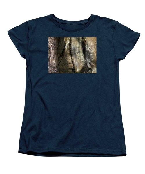 Women's T-Shirt (Standard Cut) featuring the photograph Tree Memories # 24 by Ed Hall