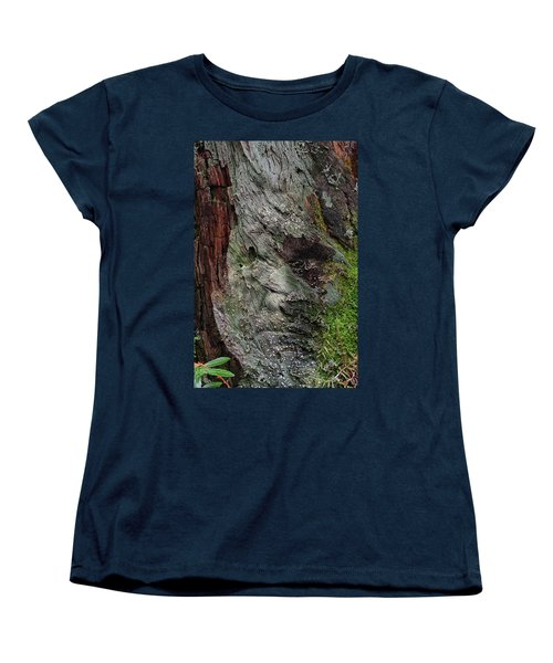 Women's T-Shirt (Standard Cut) featuring the photograph Tree Memories # 38 by Ed Hall
