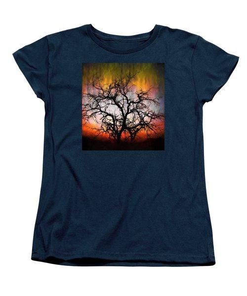 Tree Of Fire Women's T-Shirt (Standard Cut)