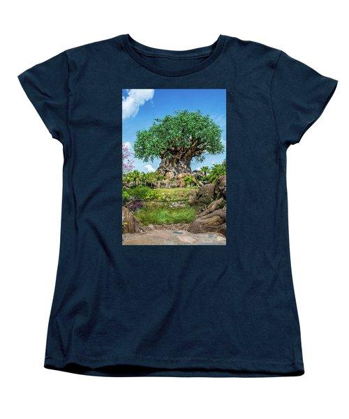 Tree Of Life Women's T-Shirt (Standard Cut) by Pamela Williams
