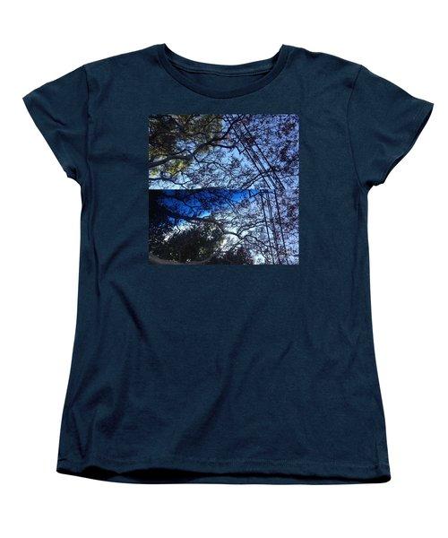 Tree Symphony Women's T-Shirt (Standard Cut) by Nora Boghossian