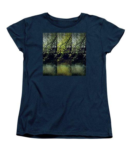 Tree Triptych Women's T-Shirt (Standard Cut)