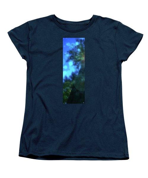 Trees Left Women's T-Shirt (Standard Cut)