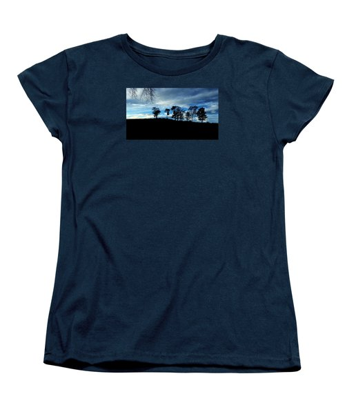 Trees Women's T-Shirt (Standard Cut) by RKAB Works